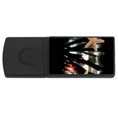 Star Fish 4GB USB Flash Drive (Rectangle)