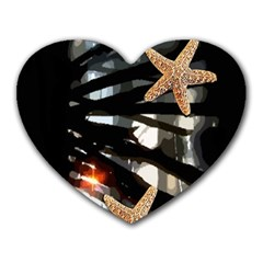 Star Fish Mouse Pad (Heart)