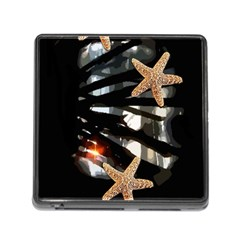 Star Fish Memory Card Reader With Storage (square)