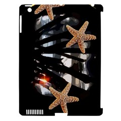 Star Fish Apple Ipad 3/4 Hardshell Case (compatible With Smart Cover)