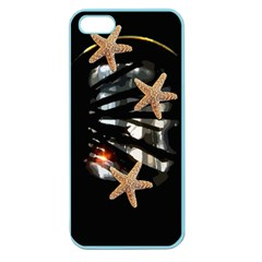 Star Fish Apple Seamless iPhone 5 Case (Color)