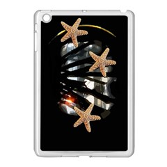 Star Fish Apple iPad Mini Case (White)