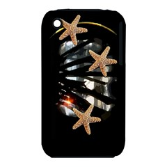 Star Fish Apple Iphone 3g/3gs Hardshell Case (pc+silicone)