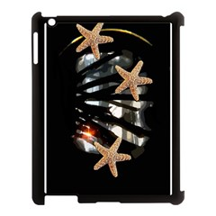 Star Fish Apple Ipad 3/4 Case (black)