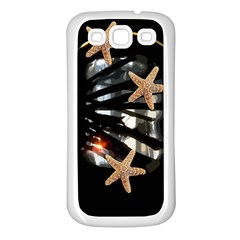 Star Fish Samsung Galaxy S3 Back Case (White)