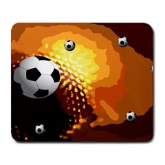 Soccer Large Mouse Pad (Rectangle)