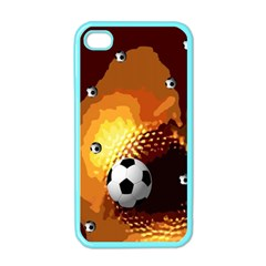Soccer Apple iPhone 4 Case (Color)