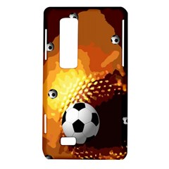 Soccer LG Optimus 3D P920 / Thrill 4G P925 Hardshell Case