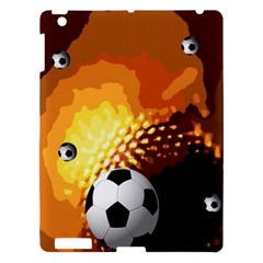 Soccer Apple Ipad 3/4 Hardshell Case
