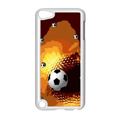 Soccer Apple iPod Touch 5 Case (White)