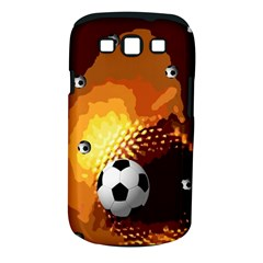 Soccer Samsung Galaxy S III Classic Hardshell Case (PC+Silicone)