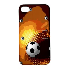 Soccer Apple iPhone 4/4S Hardshell Case with Stand