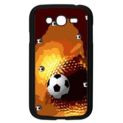 Soccer Samsung Galaxy Grand DUOS I9082 Case (Black)