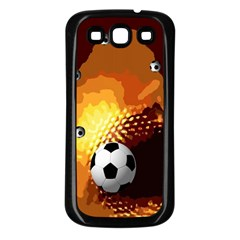 Soccer Samsung Galaxy S3 Back Case (black)