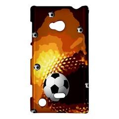 Soccer Nokia Lumia 720 Hardshell Case