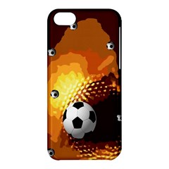 Soccer Apple Iphone 5c Hardshell Case