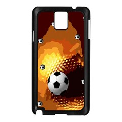 Soccer Samsung Galaxy Note 3 N9005 Case (black)