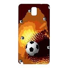 Soccer Samsung Galaxy Note 3 N9005 Hardshell Back Case