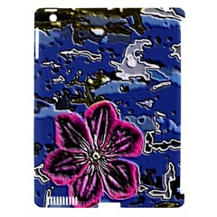 Flooded Flower Apple Ipad 3/4 Hardshell Case (compatible With Smart Cover)