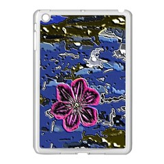 Flooded Flower Apple Ipad Mini Case (white)