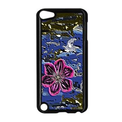 Flooded Flower Apple iPod Touch 5 Case (Black)