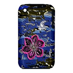 Flooded Flower Apple Iphone 3g/3gs Hardshell Case (pc+silicone)