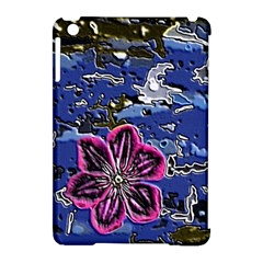 Flooded Flower Apple iPad Mini Hardshell Case (Compatible with Smart Cover)