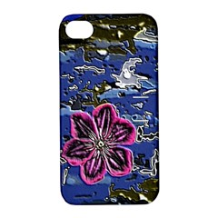 Flooded Flower Apple iPhone 4/4S Hardshell Case with Stand