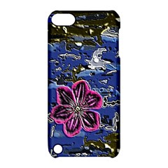 Flooded Flower Apple iPod Touch 5 Hardshell Case with Stand