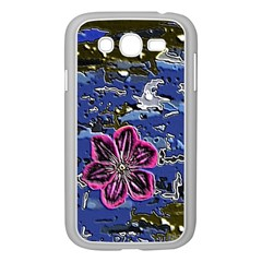 Flooded Flower Samsung Galaxy Grand DUOS I9082 Case (White)
