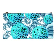 Teal Sea Forest, Abstract Underwater Ocean Pencil Case