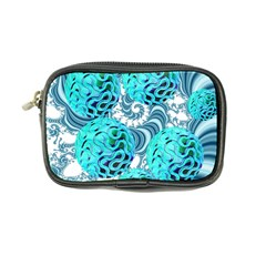 Teal Sea Forest, Abstract Underwater Ocean Coin Purse