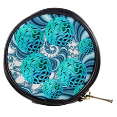 Teal Sea Forest, Abstract Underwater Ocean Mini Makeup Case