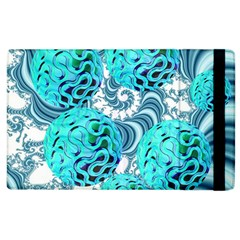 Teal Sea Forest, Abstract Underwater Ocean Apple iPad 3/4 Flip Case