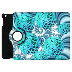 Teal Sea Forest, Abstract Underwater Ocean Apple Ipad Mini Flip 360 Case