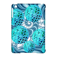 Teal Sea Forest, Abstract Underwater Ocean Apple Ipad Mini Hardshell Case (compatible With Smart Cover)