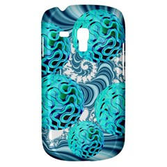 Teal Sea Forest, Abstract Underwater Ocean Samsung Galaxy S3 Mini I8190 Hardshell Case