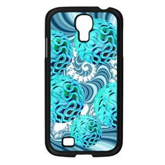 Teal Sea Forest, Abstract Underwater Ocean Samsung Galaxy S4 I9500/ I9505 Case (black)