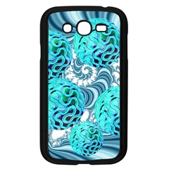 Teal Sea Forest, Abstract Underwater Ocean Samsung Galaxy Grand Duos I9082 Case (black)
