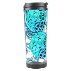 Teal Sea Forest, Abstract Underwater Ocean Travel Tumbler