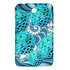 Teal Sea Forest, Abstract Underwater Ocean Samsung Galaxy Tab 3 (7 ) P3200 Hardshell Case