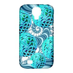 Teal Sea Forest, Abstract Underwater Ocean Samsung Galaxy S4 Classic Hardshell Case (PC+Silicone)