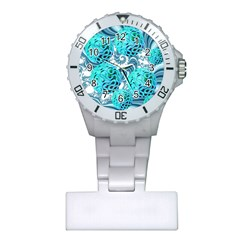Teal Sea Forest, Abstract Underwater Ocean Nurses Watch