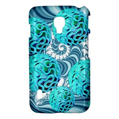 Teal Sea Forest, Abstract Underwater Ocean LG Optimus L7 II P715 Hardshell Case