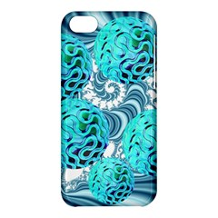 Teal Sea Forest, Abstract Underwater Ocean Apple iPhone 5C Hardshell Case