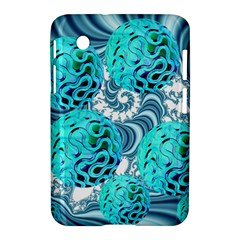 Teal Sea Forest, Abstract Underwater Ocean Samsung Galaxy Tab 2 (7 ) P3100 Hardshell Case