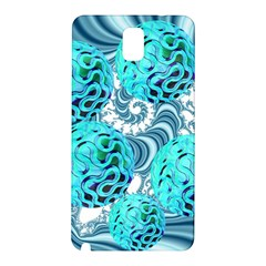 Teal Sea Forest, Abstract Underwater Ocean Samsung Galaxy Note 3 N9005 Hardshell Back Case
