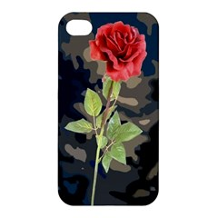 Long Stem Rose Apple iPhone 4/4S Hardshell Case