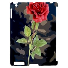 Long Stem Rose Apple iPad 2 Hardshell Case (Compatible with Smart Cover)