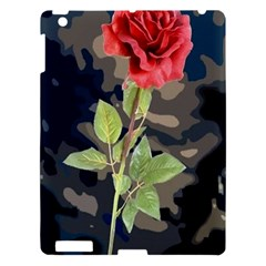 Long Stem Rose Apple iPad 3/4 Hardshell Case